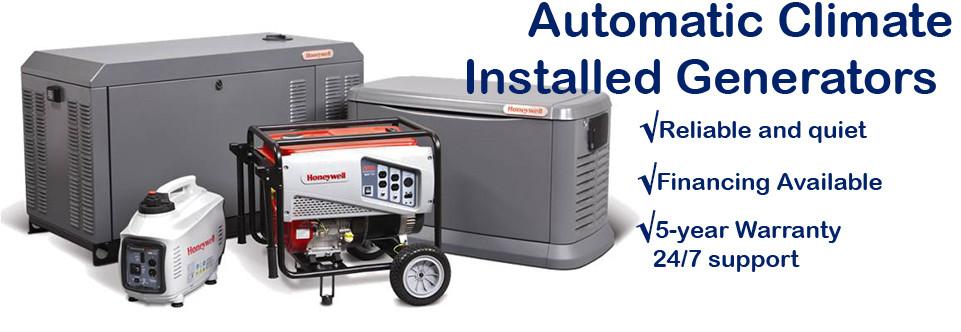 Automatic Backup Generator Installation Automatic